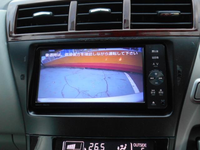 トヨタ プリウスアルファ Sツーリングセレクション SDナビ フルセグ バックカメラ
