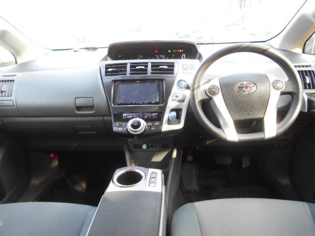 トヨタ プリウスアルファ S 社外SDナビ オートライト バックカメラ VSC ETC