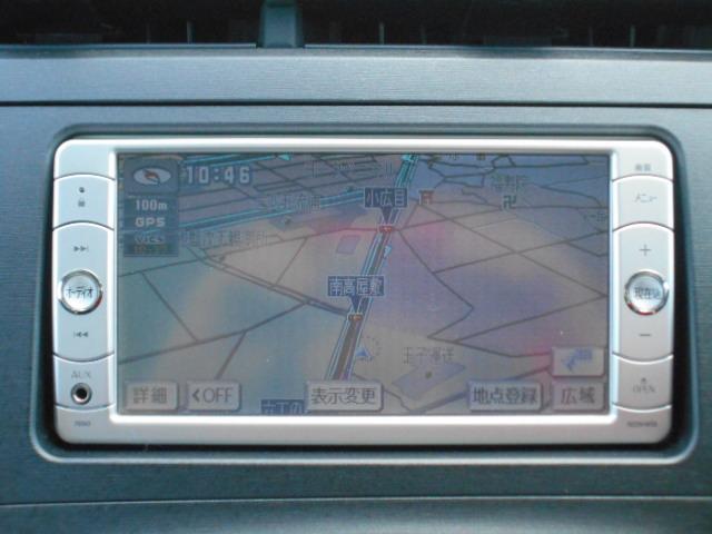 トヨタ プリウス L 純正SDナビTV オートライト 社外15インチアルミ
