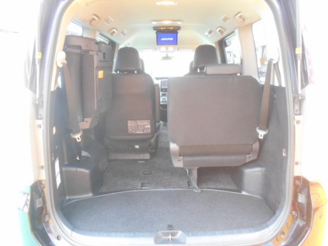 後部座席は5:5跳ね上げシートです。女性の方でも簡単にシート展開出来るので利便性に優れた快適装備です♪独自ローン有ります!0120-18-1190♪