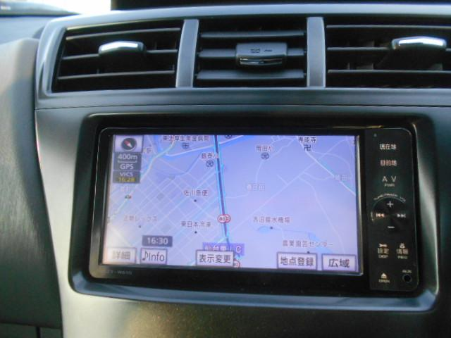 S 純正SDナビ フルセグ DVDビデオ Bluetooth バックカメラ ステアリングスイッチ スマートキー ETC オートエアコン オートライト 純正16インチアルミ プッシュスタート(4枚目)
