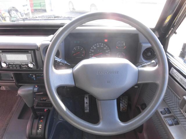 トヨタ ランドクルーザー70 LX前後リーフ集中ドアロックパワーウィンドウ新品マットタイヤ