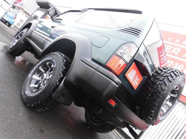 トヨタ ランドクルーザープラド RX新品リフトアップ新品タイヤホイールディーゼルターボ