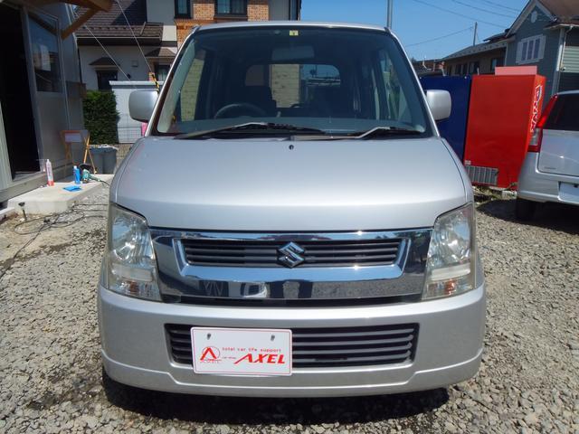 スズキ ワゴンR FX-Sリミテッド 関東仕入れ 純正CD ABS キーレス