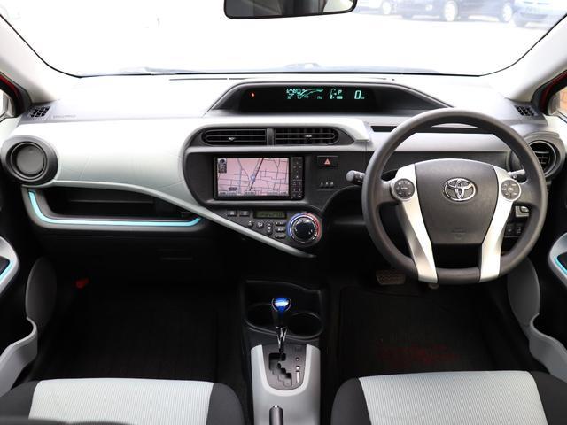 トヨタ アクア S HDDナビ Bカメラ 地デジ シートヒーター キーレス