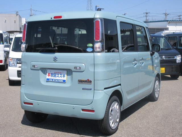 「スズキ」「スペーシア」「コンパクトカー」「秋田県」の中古車5