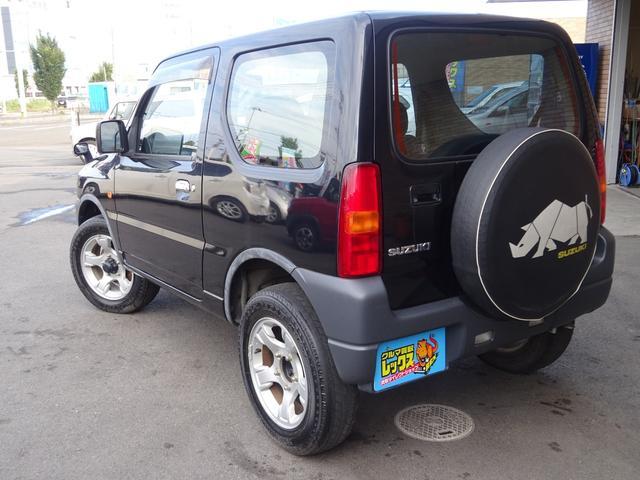 クロスアドベンチャーXA MT 4WD ターボ 背面タイヤ(20枚目)