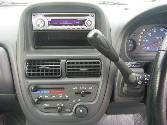 スバル プレオ A 4WD 社外オーディオ