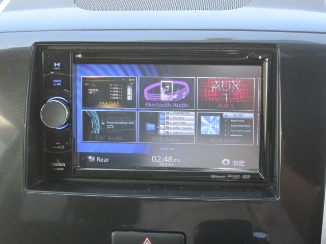 マツダ AZワゴンカスタムスタイル XSリミテッド メモリーナビ DVDビデオ オートライト