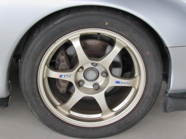 マツダ RX-7 タイプR 5速マニュアル SSR17AW 社外車高調