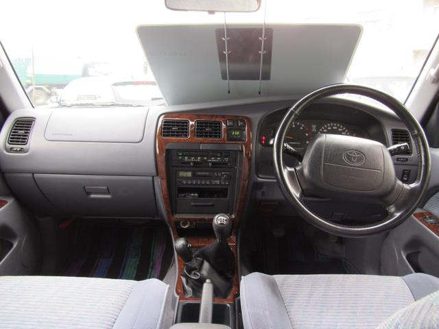トヨタ ハイラックスサーフ SSR-G インタークーラーターボ ワイド 4WD 5MT