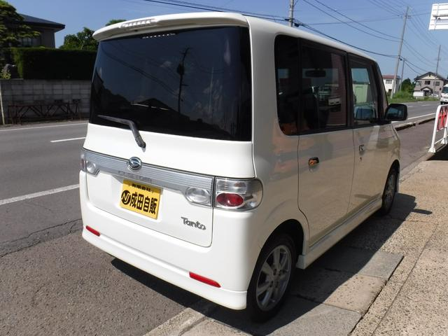 カスタムX 4WD キーレス HIDライト ナビテレ(8枚目)