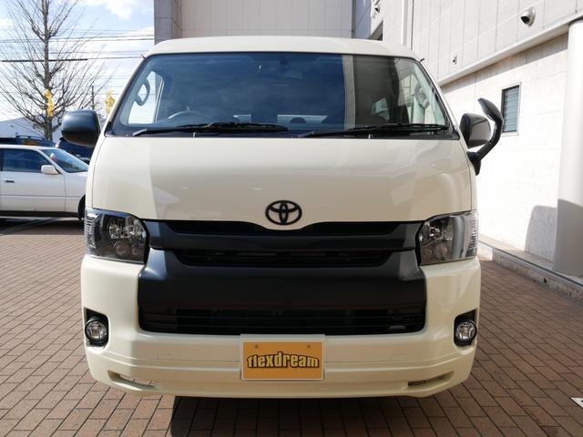 トヨタ ハイエースワゴン 4WD ライトイエロー 寒冷地