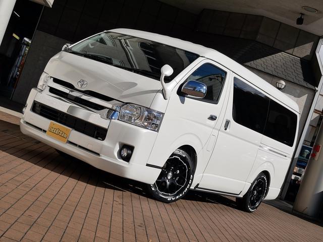 トヨタ ハイエースワゴン GL 4WD 【内装架装】ライトキャンピング