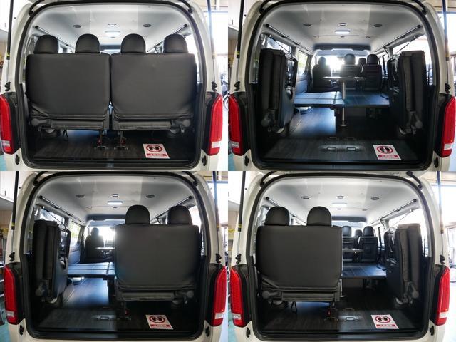GL 4WD 内装架装 ライトキャンピング(13枚目)