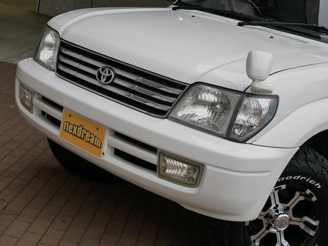 トヨタ ランドクルーザープラド TX-LTD 2.7L 8人乗り MKW BFGタイヤ