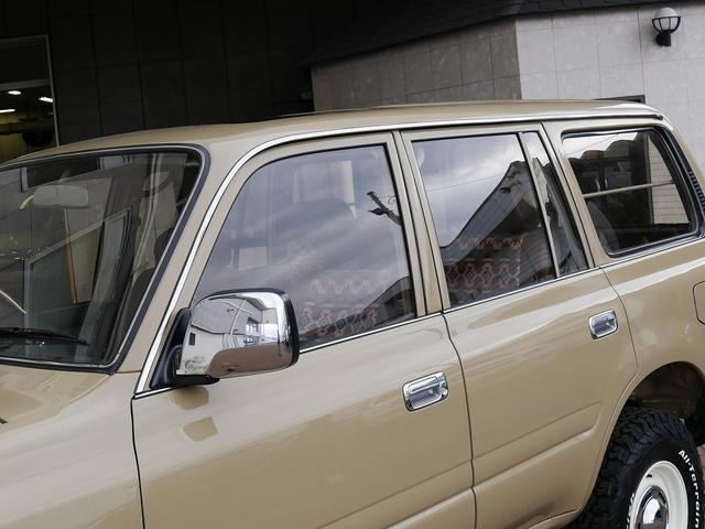 トヨタ ランドクルーザー80 ディーゼル 丸目フェイス換装 ペンドルトンインテリア