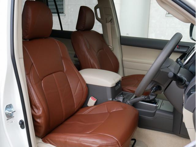TX 新車金利1.9パーセント クリーンディーゼル TX メーカーオプション込み 新車カスタムPKG 各部ブラックアウト 2インチUP オープンRT ガンメタ17インチAW ブラウンレザーシートカバー サン(47枚目)