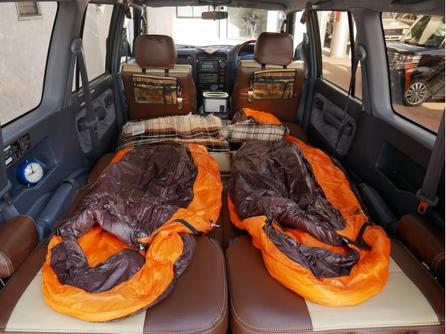 TXリミテッド 中古車金利1.9パーセント TX-LTD 2.7L 8人乗 FD-classic NEWペイント 丸目フェイス FD-camp車中泊仕様 PENDLETON DULTONアメリカン雑貨 NANGAシュ(54枚目)