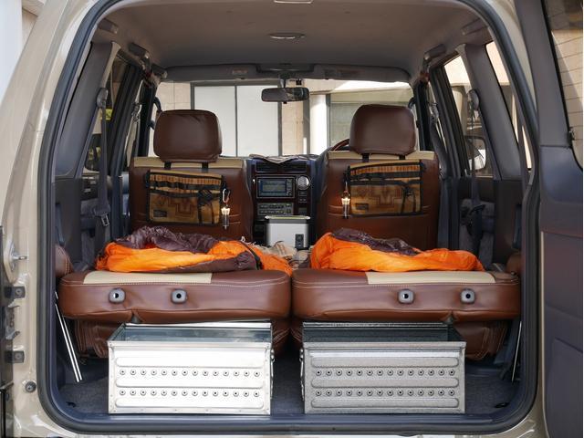 TXリミテッド 中古車金利1.9パーセント TX-LTD 2.7L 8人乗 FD-classic NEWペイント 丸目フェイス FD-camp車中泊仕様 PENDLETON DULTONアメリカン雑貨 NANGAシュ(56枚目)