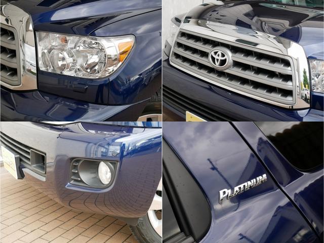 プラチナム 4WD 新車並行 1オーナー リアエンター(5枚目)
