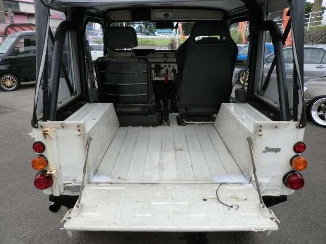 三菱 ジープ キャンバストップ 4インチUP 16AW サクソンマフラー