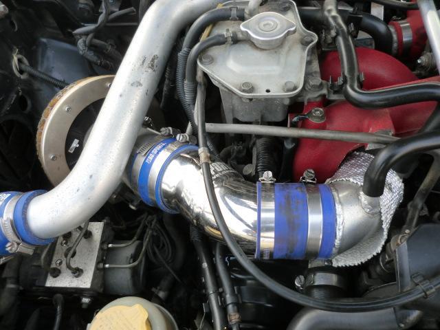WRX STi HKS GT2タービン エンドレスキャリパー(10枚目)