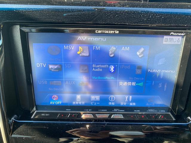 エレガンス 4WD ハイブリッド カロッツェリア ナビ DTV ETC レーダー コーナーセンサー バックカメラ フォグ オートライト オートリトラミラー アルミ レザーシート オートクルーズ(13枚目)