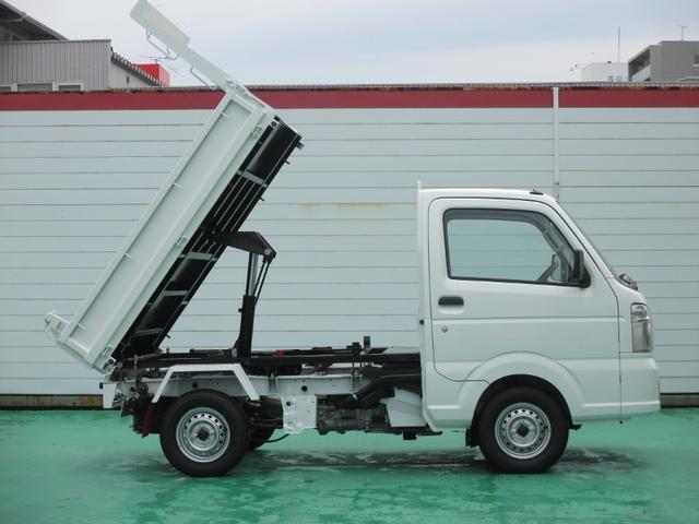 新明和製ダンプ 4WD 届出済未使用車 Wエアバック(10枚目)