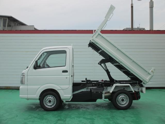新明和製ダンプ 4WD 届出済未使用車 Wエアバック(11枚目)