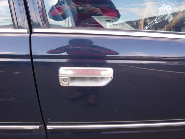 日産 セドリックワゴン GL 28D-6 ディーゼル ベンチコラム 社外メッキアルミ