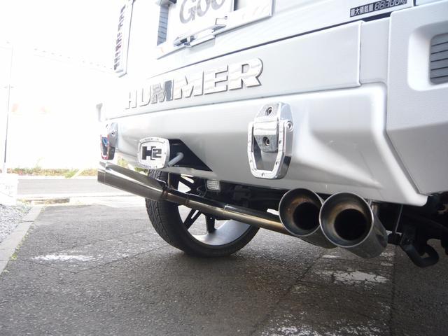 ハマー ハマー H2 タイプG 4WD SR26インチアルミ 1ナンバー