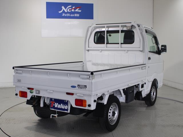 KCエアコン・パワステ 4WD 5MT シングルエアバック(3枚目)