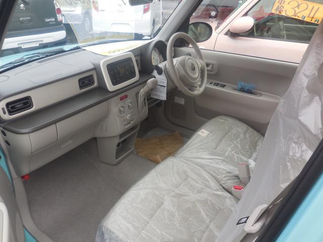 スズキ アルトラパン G 4WD 登録済未使用車 5AGS レーダーブレーキ