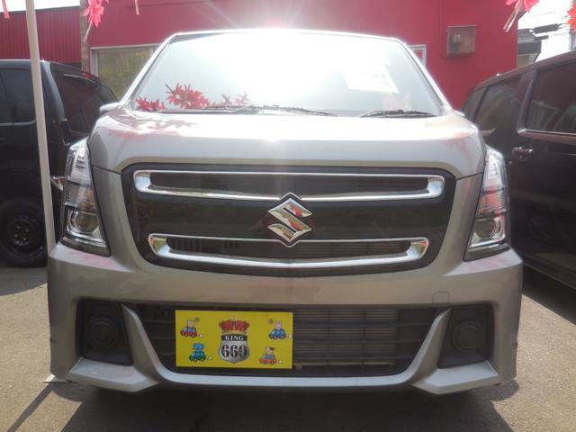 スズキ ワゴンRスティングレー L 4WD セーフティーパッケージ 登録済未使用車 保証付