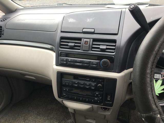 日産 バサラ Wエアバッグ 3列シート 4WD CD