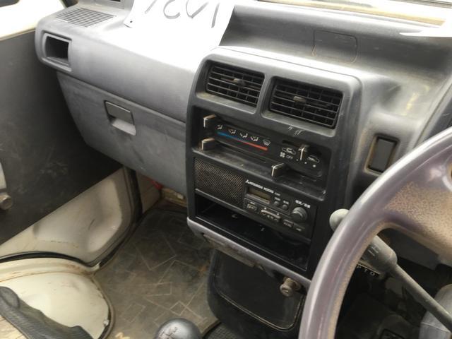 三菱 ミニキャブトラック 4WD ダンプ