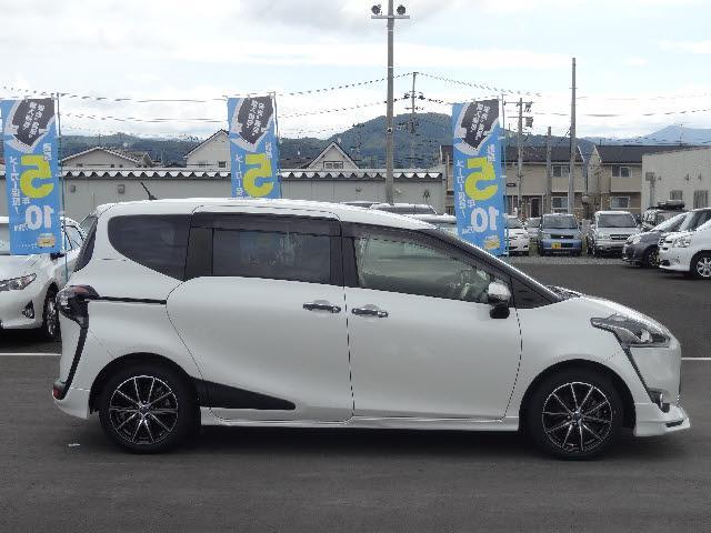トヨタ シエンタ G TRDフルエアロ タイヤ新品交換済 ENKEI製アルミ