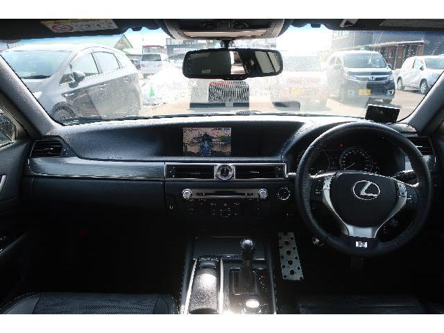 GS300h Fスポーツ HDDナビ DVD再生 Bluetooth フルセグ バックカメラ ETC LEDヘッドランプ スマートキー キーレス 電動シート ミュージックサーバー シートヒーター オートライト(14枚目)
