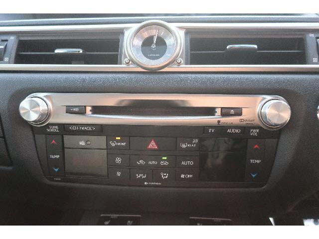 GS300h Fスポーツ HDDナビ DVD再生 Bluetooth フルセグ バックカメラ ETC LEDヘッドランプ スマートキー キーレス 電動シート ミュージックサーバー シートヒーター オートライト(18枚目)
