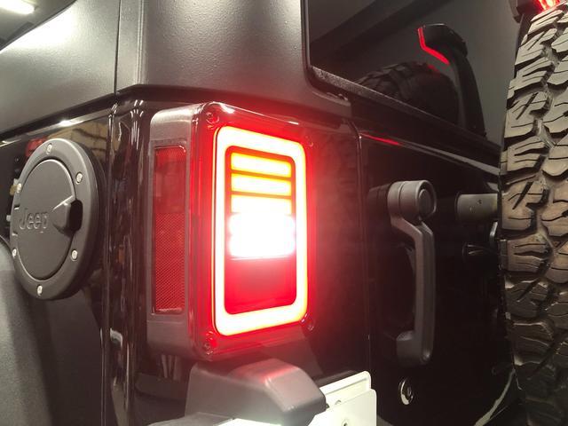 スポーツ AVE17インチアルミホイール BFグッドリッチオールテレンKO2 アルパインBIGX9インチナビ ショートアンテナ リアシートリクライニングキット 社外LEDテール ナンバー移設キット レーダー探知(22枚目)
