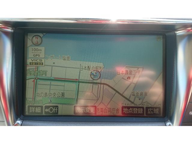 LS460 バージョンC Iパッケージ 純正ナビ ETC(15枚目)