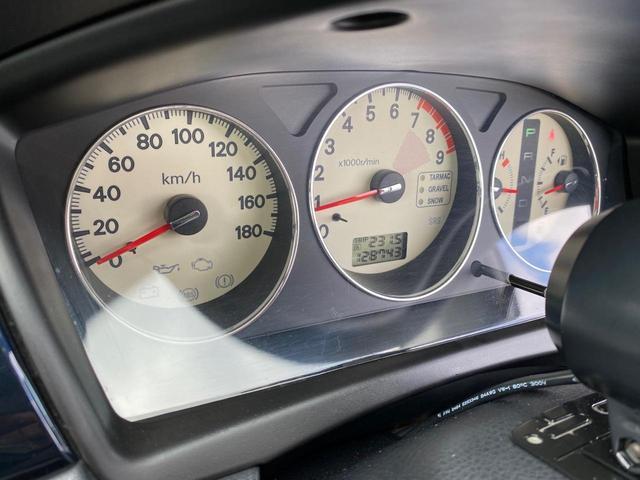 エボリューションVII GT-A 4WD アクティブセンターデフ パドルシフト ETC スターター 社外タコメーター 社外サスペンション(24枚目)