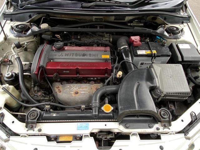エボリューションVII GT-A 4WD アクティブセンターデフ パドルシフト ETC スターター 社外タコメーター 社外サスペンション(43枚目)