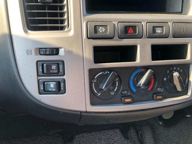 チェアキャブ 福祉車両 4WD 車いす2名 合計10名乗車 車イス昇降リフト オートステップ 後席エアコン(29枚目)