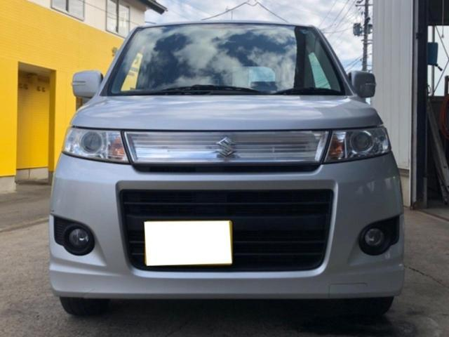 「スズキ」「ワゴンRスティングレー」「コンパクトカー」「秋田県」の中古車3