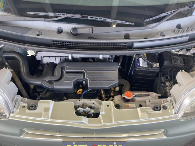 X 4WD 禁煙車 ピラーレス電動スライドドア キーレス スマートキー 横滑り防止 アイドリングストップ ベンチシート フルフラットシート 電動格納ミラー(4枚目)