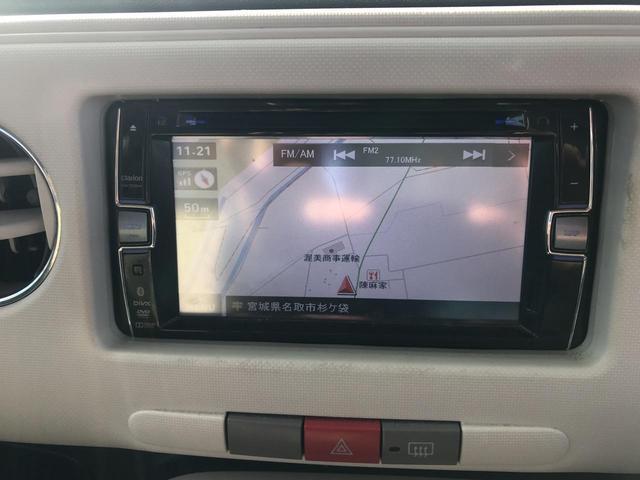 ココアX 4WD ナビTV CD スマートキー ルーフレール 電動格納ミラー 整備込み 保証付き(9枚目)