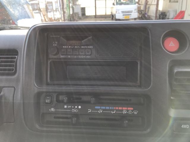 エアコン・パワステ スペシャル 4WD MT 軽トラック(5枚目)