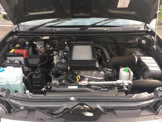 ランドベンチャー K3プレミアム2.5インチリフトUP&前後ショートバンパー&スキッドプレート&マフラー&サイドステップ ジオランダーM/T クオーレモジュレ合皮シート 前席シートヒーター 切替4WD CDオーディオ(38枚目)